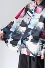画像4: soe / プリントオーバーサイズシャツ (4)