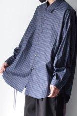 画像6: soe / チェックオーバーシャツ (6)