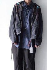 画像14: soe / チェックオーバーシャツ (14)
