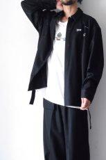 画像10: yoshio kubo GROUNDFLOOR /フランネルウールシャツ (10)