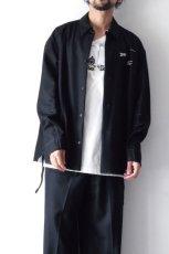 画像9: yoshio kubo GROUNDFLOOR /フランネルウールシャツ (9)