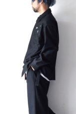 画像3: yoshio kubo GROUNDFLOOR /フランネルウールシャツ (3)