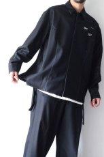 画像11: yoshio kubo GROUNDFLOOR /フランネルウールシャツ (11)