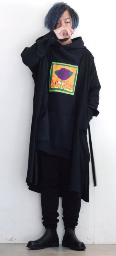 画像1: ETHOSENS / ロングシャツ