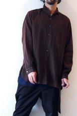 画像10: suzuki takayuki / ショールカラーシャツ (10)
