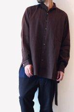 画像3: suzuki takayuki / ショールカラーシャツ (3)