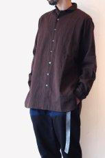 画像4: suzuki takayuki / ショールカラーシャツ (4)