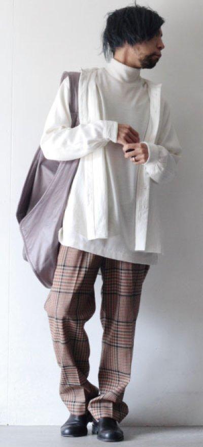 画像1: suzuki takayuki / ショールカラーシャツ
