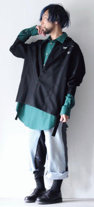画像3: INCOLORE / オーバーサイズシャツ