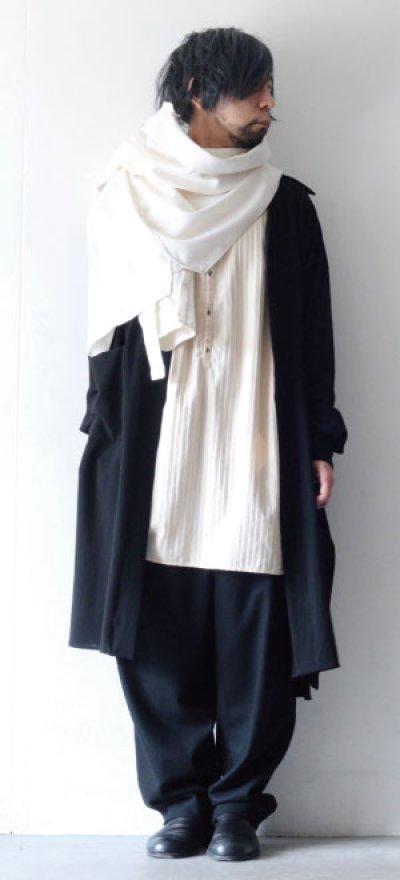画像2: ETHOSENS / ロングシャツ