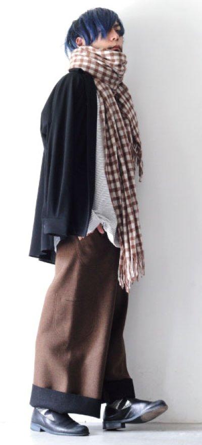 画像2: ETHOSENS / オープンカラーシャツ