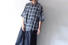画像4: S I S E / ビッグポケットチェックシャツ (4)