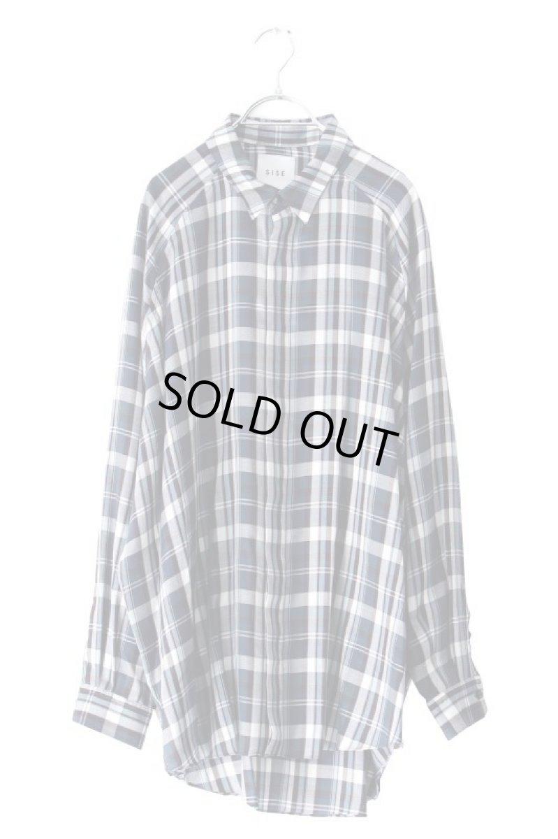 画像1: S I S E / バルーンチェックシャツ (1)