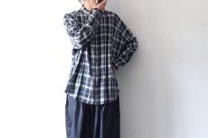 画像8: S I S E / バルーンチェックシャツ (8)