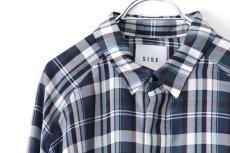 画像12: S I S E / バルーンチェックシャツ (12)