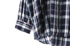 画像14: S I S E / バルーンチェックシャツ (14)
