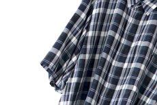画像12: S I S E / ビッグポケットチェックシャツ (12)