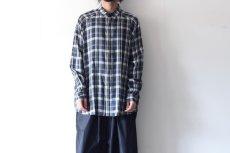 画像9: S I S E / バルーンチェックシャツ (9)