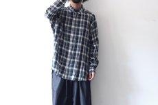画像2: S I S E / バルーンチェックシャツ (2)