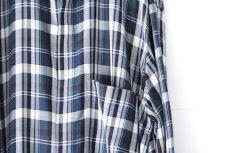 画像16: S I S E / ロングチェックシャツ (16)
