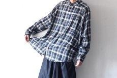 画像4: S I S E / バルーンチェックシャツ (4)