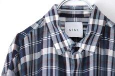 画像15: S I S E / ロングチェックシャツ (15)