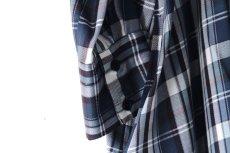 画像19: S I S E / ロングチェックシャツ (19)
