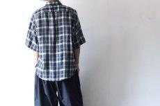 画像6: S I S E / ビッグポケットチェックシャツ (6)