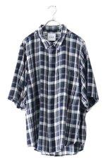 画像1: S I S E / ビッグポケットチェックシャツ (1)