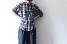 画像9: S I S E / ビッグポケットチェックシャツ (9)