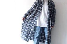 画像9: S I S E / ロングチェックシャツ (9)