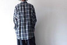 画像6: S I S E / バルーンチェックシャツ (6)