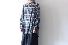 画像10: S I S E / バルーンチェックシャツ (10)