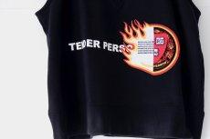 画像19: TENDER PERSON / エンブレムスウェットベスト (19)