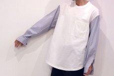 画像4: soe / ドッキングプルオーバーシャツ (4)
