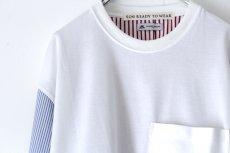 画像14: soe / ドッキングプルオーバーシャツ (14)