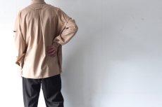 画像4: ETHOSENS / ボタンアップスリーブシャツ (4)