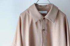 画像17: ETHOSENS / ボタンアップスリーブシャツ (17)