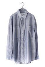 画像1: yoshio kubo GROUNDFLOOR / ストライプシャツ (1)