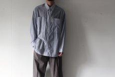 画像8: yoshio kubo GROUNDFLOOR / ストライプシャツ (8)