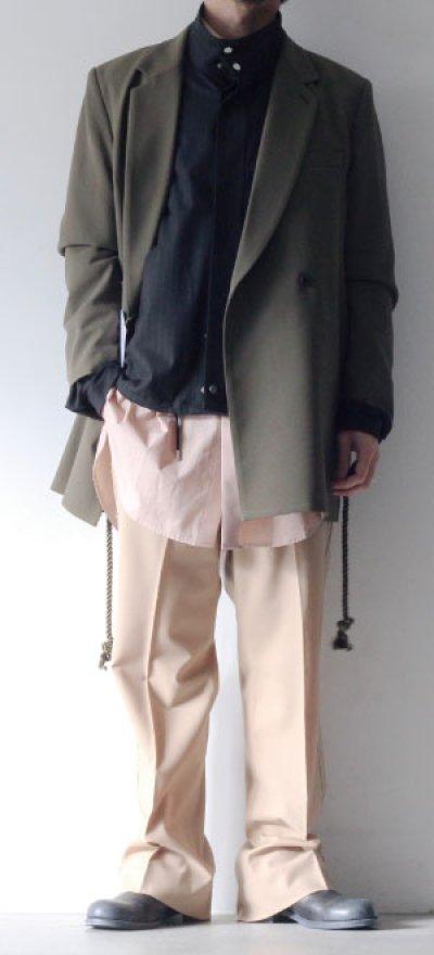 画像1: ETHOSENS / ロープベルトジャケット