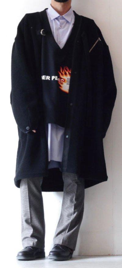 画像1: soe / ロングシャツ