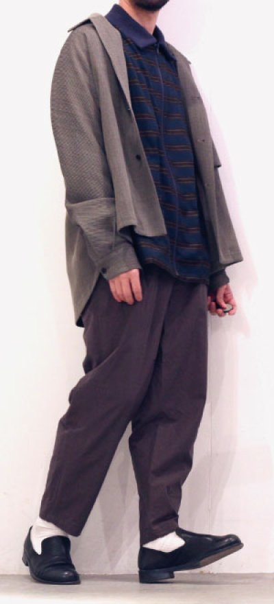 画像1: yoshio kubo GROUNDFLOOR / タックパンツ
