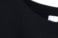 画像15: UNDECORATED / ビッグワッフルTシャツ (15)