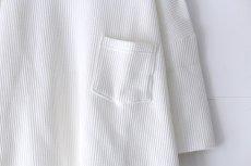 画像13: UNDECORATED / ビッグワッフルTシャツ (13)