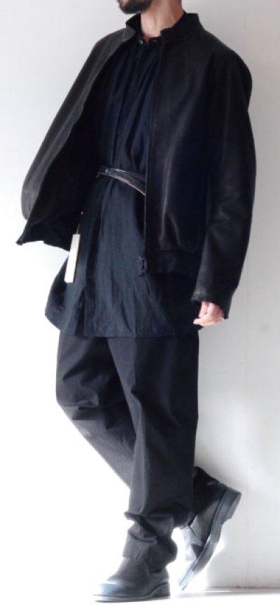 画像2: suzuki takayuki / レザーブルゾン