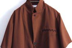 画像19: ETHOSENS / ショートスリーブジャケットシャツ (19)