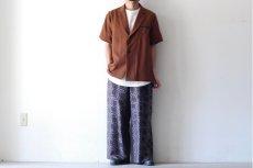 画像8: ETHOSENS / ショートスリーブジャケットシャツ (8)