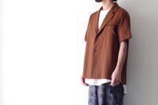 画像9: ETHOSENS / ショートスリーブジャケットシャツ (9)