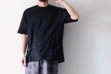 画像7: ETHOSENS / ロープベルトTシャツ (7)